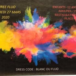 Soirée Balles fluo vendredi 27 mars